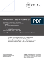 Power Builder Stay or Not to Stay Whitepaper