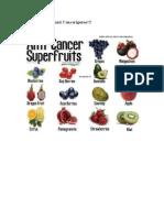 14 Frutas Súper Anti Cancerígenas