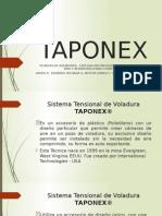 PRESENTACIÓN TAPONEX ESING