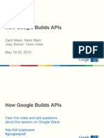 Googleapis How Google Builds Apis