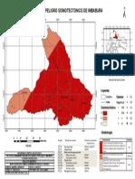 Mapa Peligro sísmico provincia de Imbabura