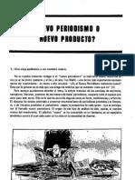 Angulo El Periodismo Como Producto