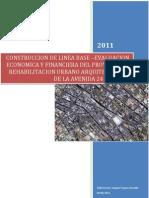 Informe Proyecto Rehabilitacion Avenida 24 de Mayo