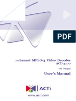 ACD-3100 HardwareManual 090330