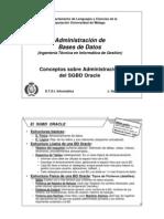 ConceptosDadministracionBasesdeDatos Oracle