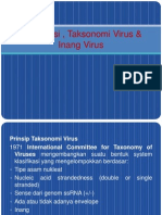 4. Klasifikasi ,Taksonomi & Inang Virus