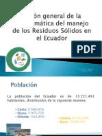 Problematica de Residuos Ecuador