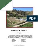 Expediente Ie 80261 - Paranday
