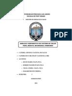 Comaparacion Analitica Peru, Mexico, Nicaragua, Honduras