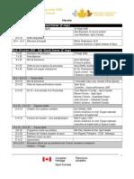 1.0 - Summit Agenda - Fr