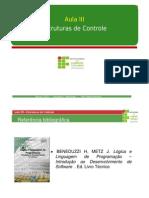 03 Tec_ALG - Estruturas de Controle