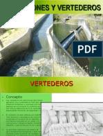 diseño hidraulico de vertederos
