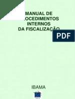 Manual de Procedimentos Ibama