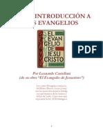 Breve Introduccion a Los Evangelios(Leonardo Castellani)