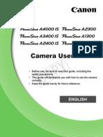 Canon PowerShot A810 Camera Manual