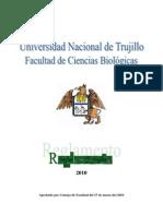 Reglamento de la Facultad Ciencias Biológicas