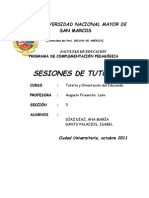 Sesiones Tutoria Final