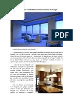 Dimmerização - Conforto Visual com Economia de Energia