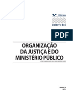 Organizacao Da Justica e Do Mp 2012-2
