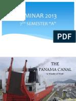 Presentation On Panama Canal