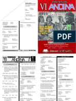 Examen Pentatlon SECUNDARIA 11 JUNIO