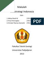 Makalah Geostrategi Indonesia