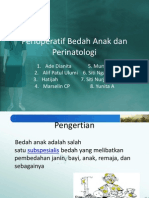 Perioperatif Bedah Anak Dan Perinatologi
