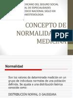 Concepto de Normalidad en Medicina