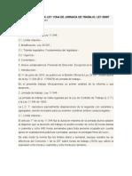 MODIFICACIÓN DE LA LEY 11544 DE JORNADA DE TRABAJO