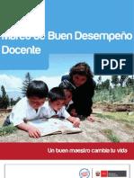 MINEDU MARCO DE BUEN DESEMPEÑO DOCENTE