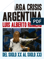 Romero La Larga Crisis Argentina