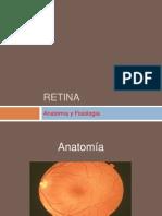 Anatomia y Fisiologia de Retina