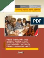 DCBN Para La Carrera Dl Profesor de Ingles_2010