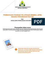 Pembiayaan Standar Pelayanan Minimum (SPM) Bidang Perumahan Rakyat