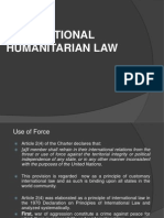 International Humanitarian Law and Use of Force