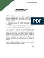 PSPM No. 03 Standar Pelaksanaan & Pelaporan Review Mutu