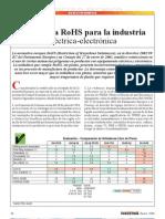 Normativa Rohs Para La Industria Electronica