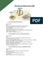 Coletâneas de GPOs úteis no Windows Server 2008