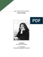 Angel Garcia Ropero - Sobre Susan Sontag Ante El Dolor