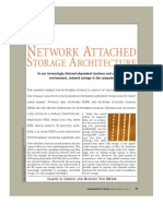 Network Attached Storage Architecture