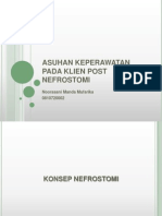 Asuhan Keperawatan Pada Klien Post Nefrostomi