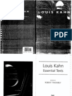 EssentialTexts. Louis Kahn