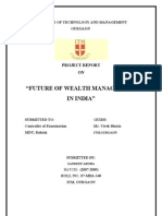 49467287 Report on Wealth Management