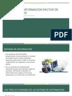 sistemas de información factor de competitividad
