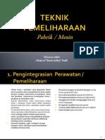 teknikpemeliharaan-130122235431-phpapp01