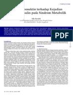 Peran Adiponektin Terhadap Kejadian Resistensi Insulin Pada Sindrom Metabolik 4