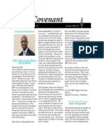 Covenant Newsletter June
