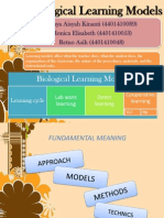 Biological Learning Models