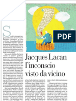 Jacques Lacan, l'inconscio visto da vicino - La Repubblica 02.06.2013
