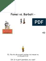 Femeie vs Barbat Bundy Style
